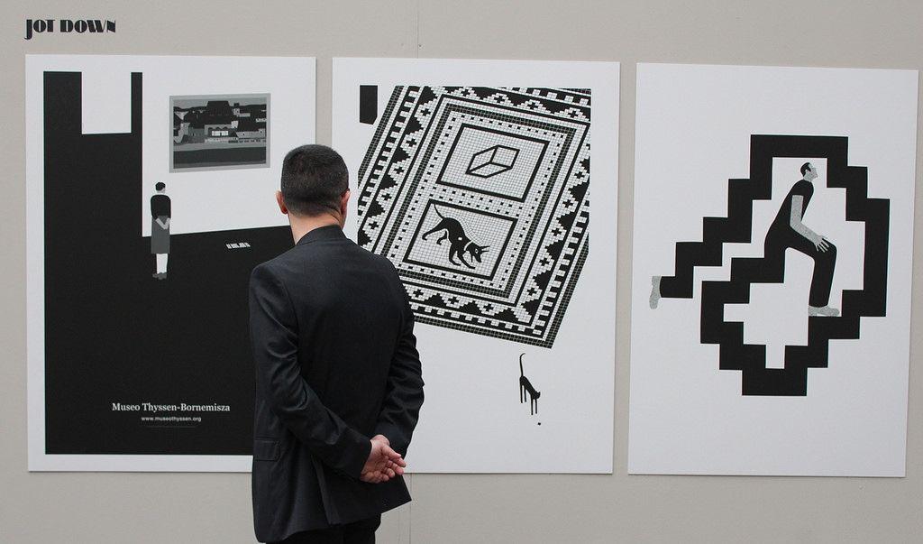 Exposición Pablo Amargo en Oviedo   por Pablo Amargo B/N
