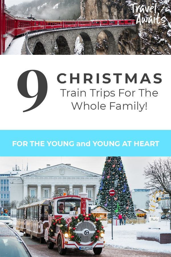 The Best Christmas Train Trips For Families Christmas