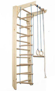 240€ FunnyClouds Kinder Kletterwand