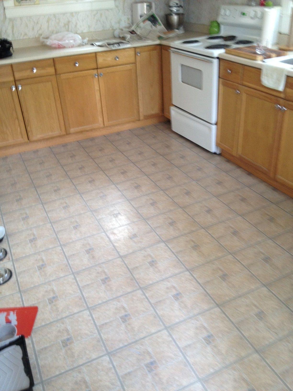 Küche Vinyl Boden Fliesen Überprüfen Sie mehr unter http://kuchedeko ...