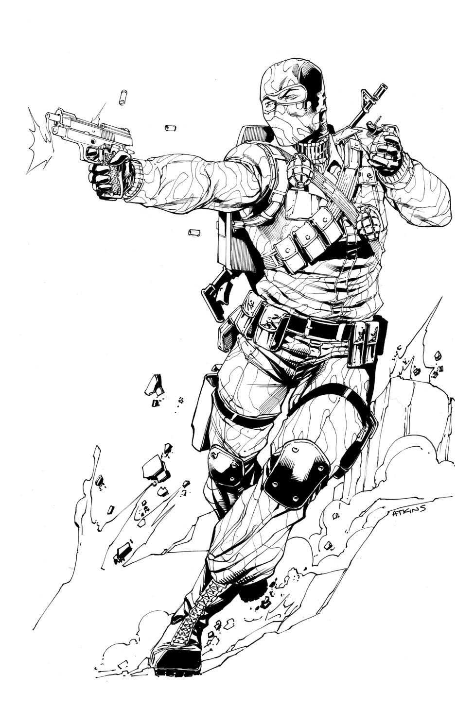 Pin By Pinky Lam On Army Snake Eyes Gi Joe Superhero Art Military Drawings