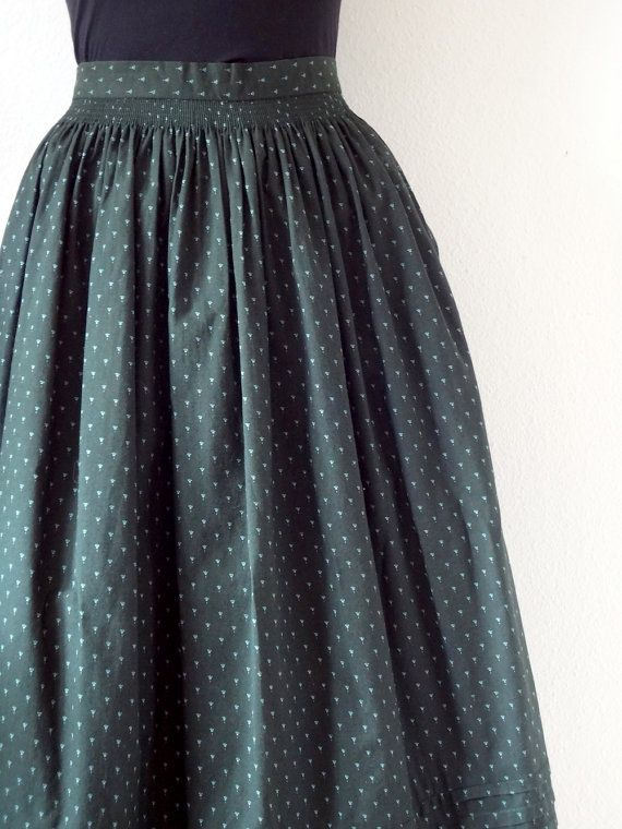 This is an example of a gathered/dirndl skirt.