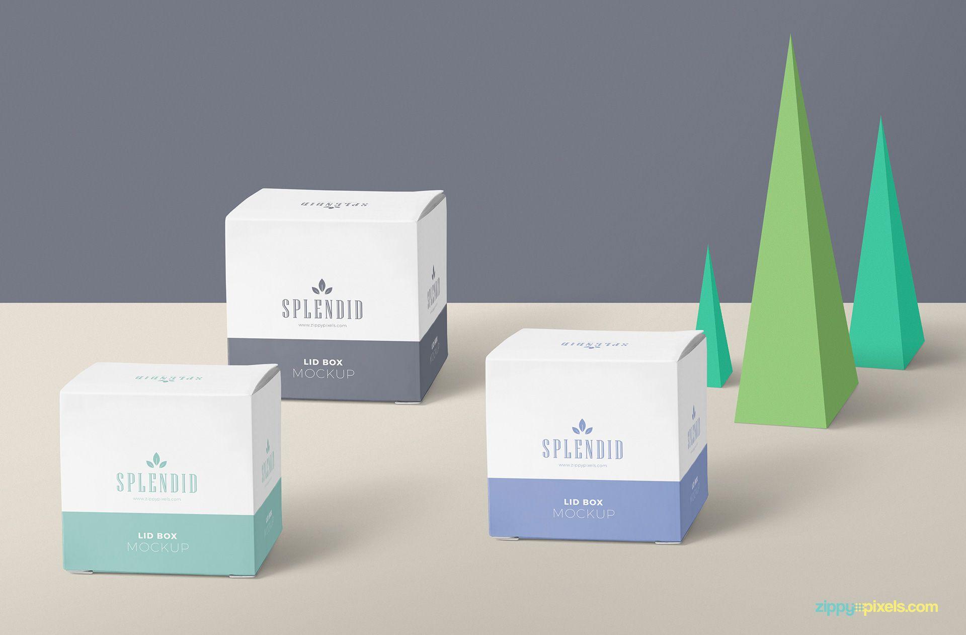 Download Free Paper Box Mockup Psd Zippypixels Free Packaging Mockup Box Mockup Paper Box