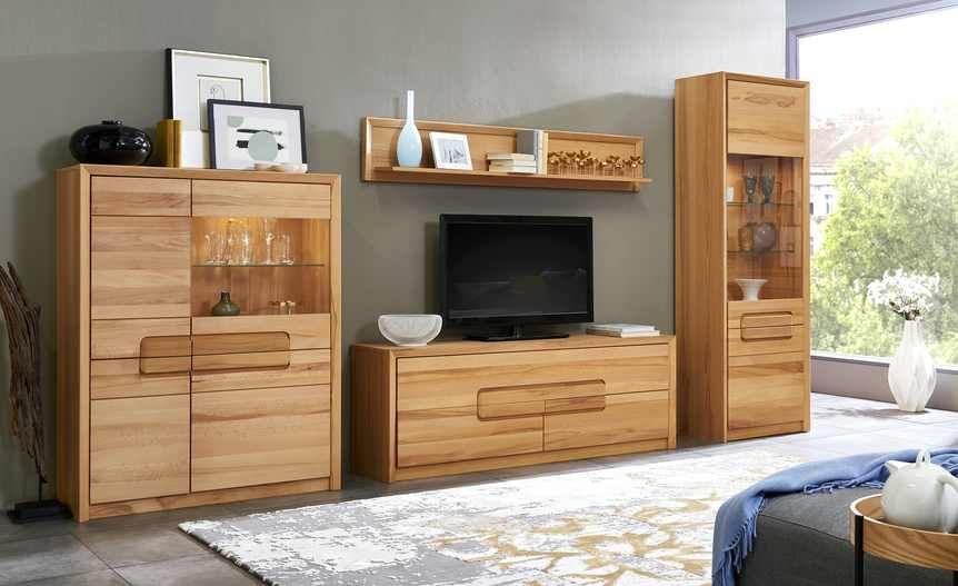 Wohnkombination Oslo Gefunden Bei Mobel Hoffner Wohnzimmerschranke Mobel Wohnzimmer Wohn Mobel