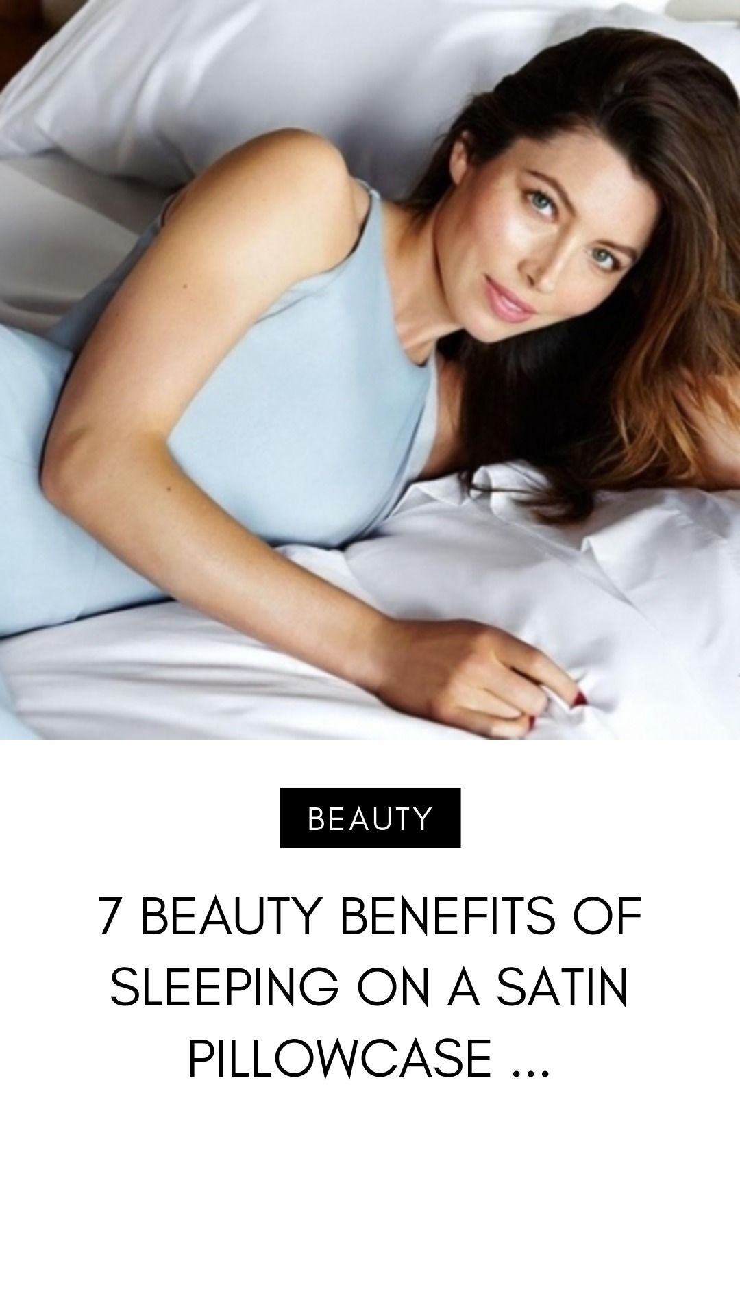 7 Beauty Benefits Of Sleeping On A Satin Pillowcase Satin Pillowcase Sleep Wrinkles Pillow Cases