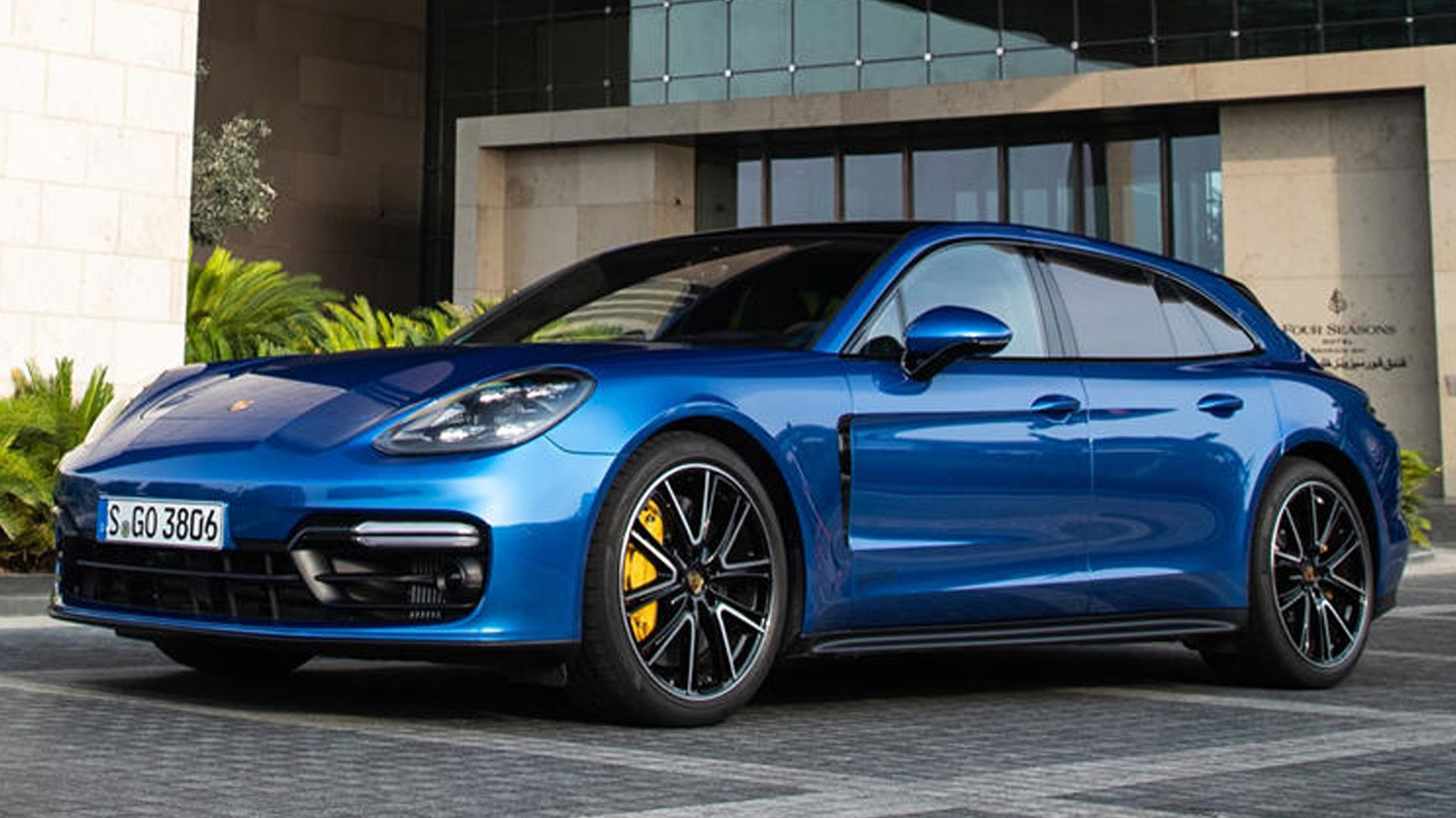At the heart of new Porsche Panamera GTS Sport Turismo is