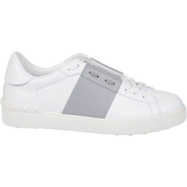 Valentino: White Pastel Grey Open