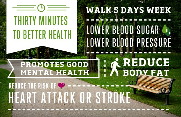 Make time for a walk!   Health insurance plans ...