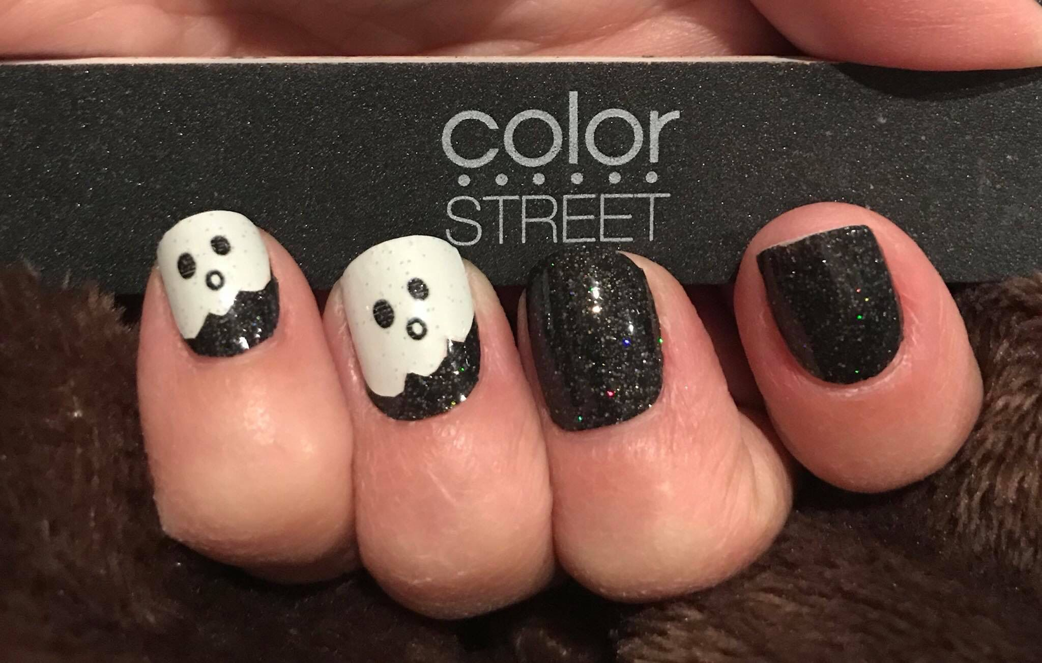 Halloween Nails Color Street Color Street Nails Halloween Manicure