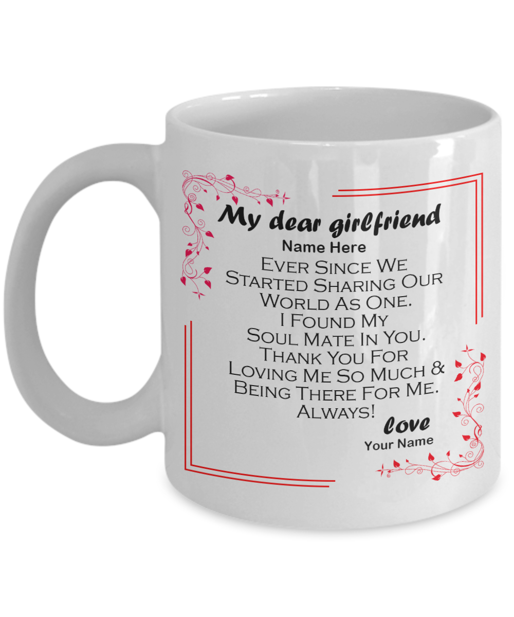 Yesecart Girlfriend Personalized Gifts For Her Birthday Cheap