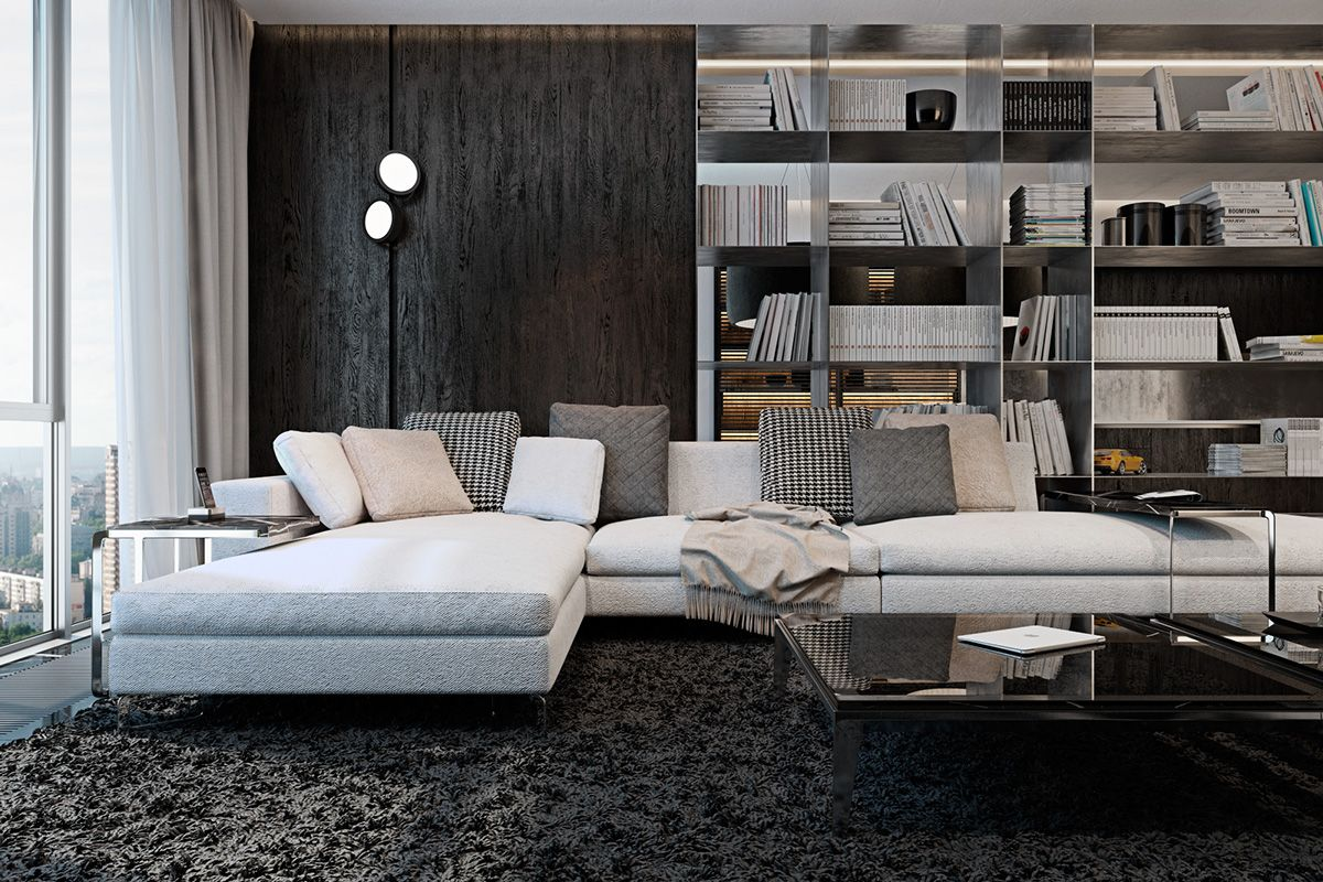 Dark Apartment Living Room 8 living room interior designs and layout with dramatic dark