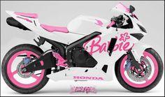 barbie motorbike