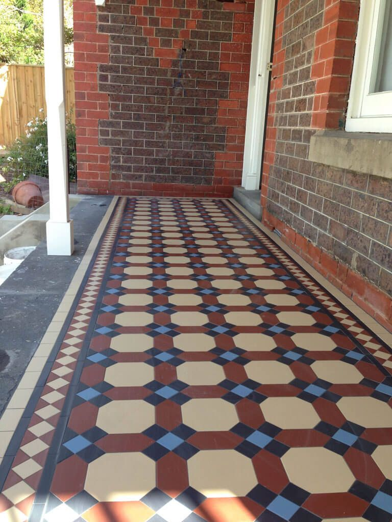 Victorian Mosaic Tiling Provide Most Effective Tessellated Tiling