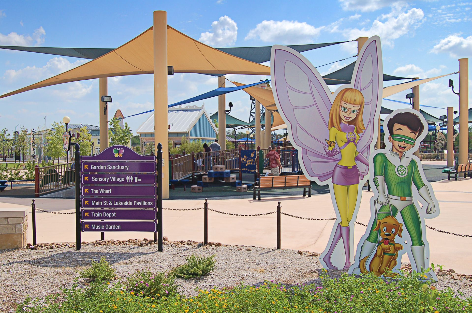 Wonderland San Antonio Digital Illustration