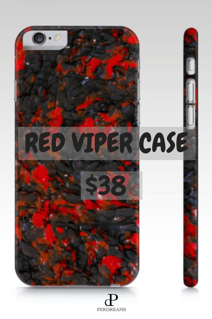 buy online d014a 8e223 Red Viper Case | Phone Cases iPhone & Galaxy | Iphone cases, Iphone ...