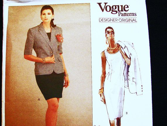 Vogue Designer Original Pattern ROBERT by PatternsFromThePast ...