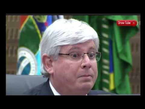 """""""RJ e o Brasil dobraram os joelhos"""",diz Rodrigo Janot"""
