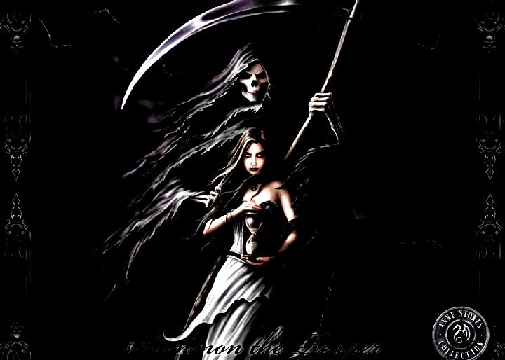 Grim Reaper Alpha Coders Wallpaper Abyss Dark Grim Reaper 115487 Evil Wallpapers Evil Wallpapers In 2020 Grim Reaper Wallpaper Evil