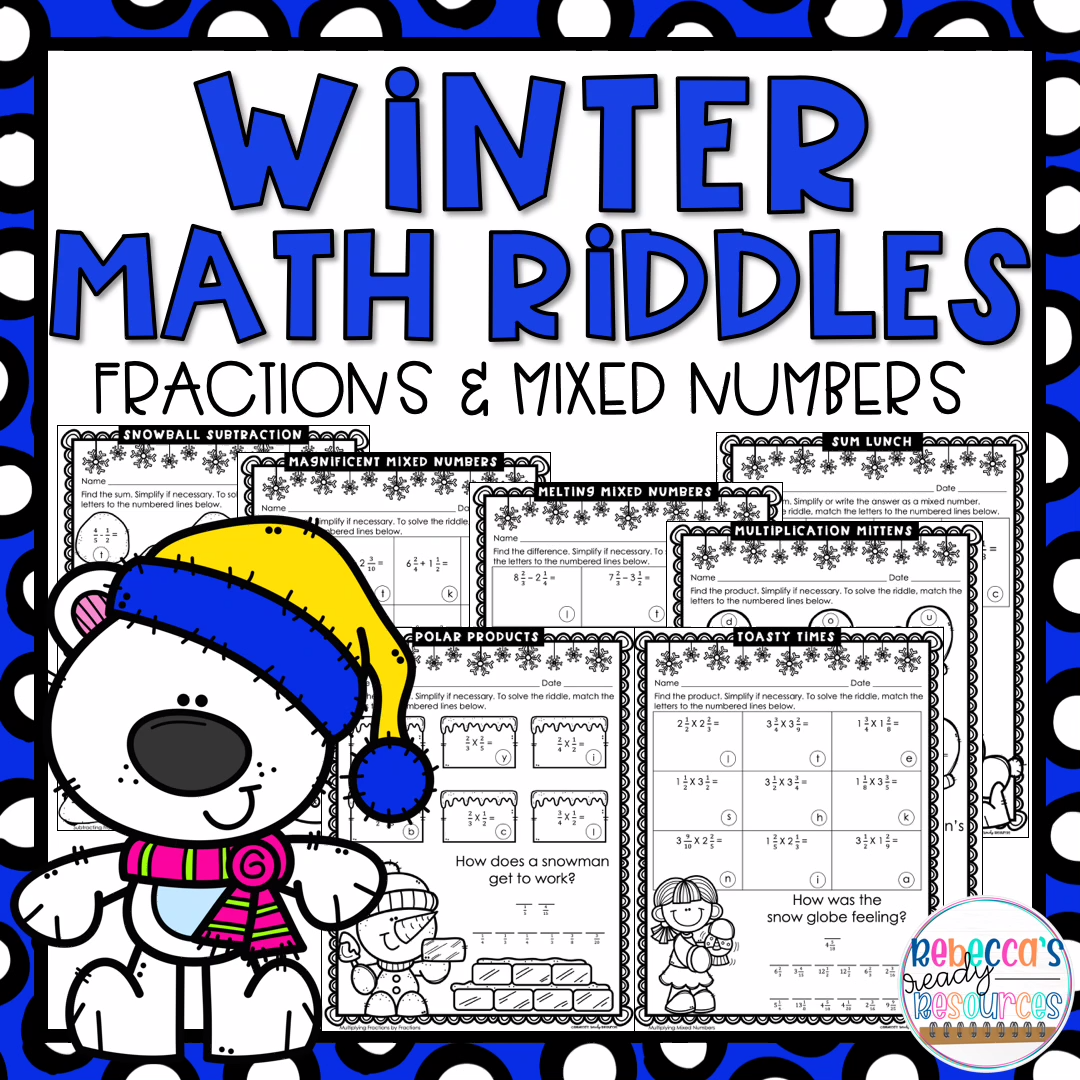 Adding Subtracting And Multiplying Fractions And Mixed