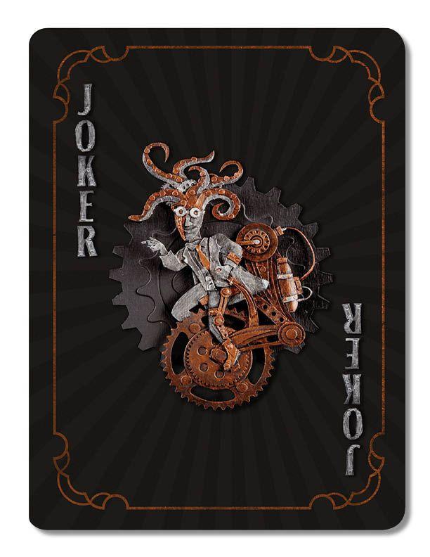 Pin By Lance Oscarson On Steampunk Paper Sculpture Joker Playing Card Joker Card Card Tattoo