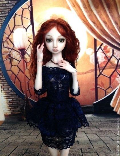 Коллекционные куклы ручной работы. Ярмарка Мастеров - ручная работа Bella. Handmade.
