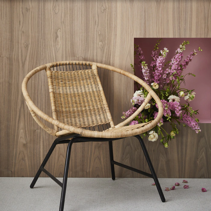 Go retro with rattan IKEA launched the GAGNET armchair in ...