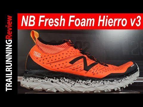 e1f2a3e9311 Hasta -19% las zapatillas de trail New Balance Fresh Foam Hierro V3 en azul  hombre. Zapatillas montaña con polaina y suela Vibram. Envío GRATIS