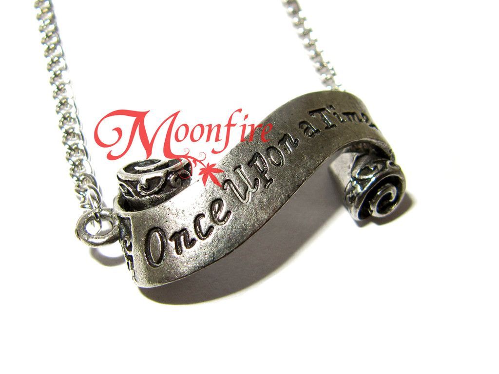 Once Upon A Time Ornate Scroll Necklace