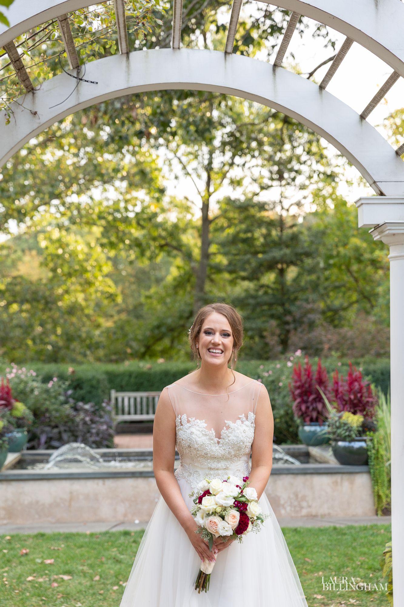 Wedding photos at Freylinghuysen Arboretum, Morristown, NJ