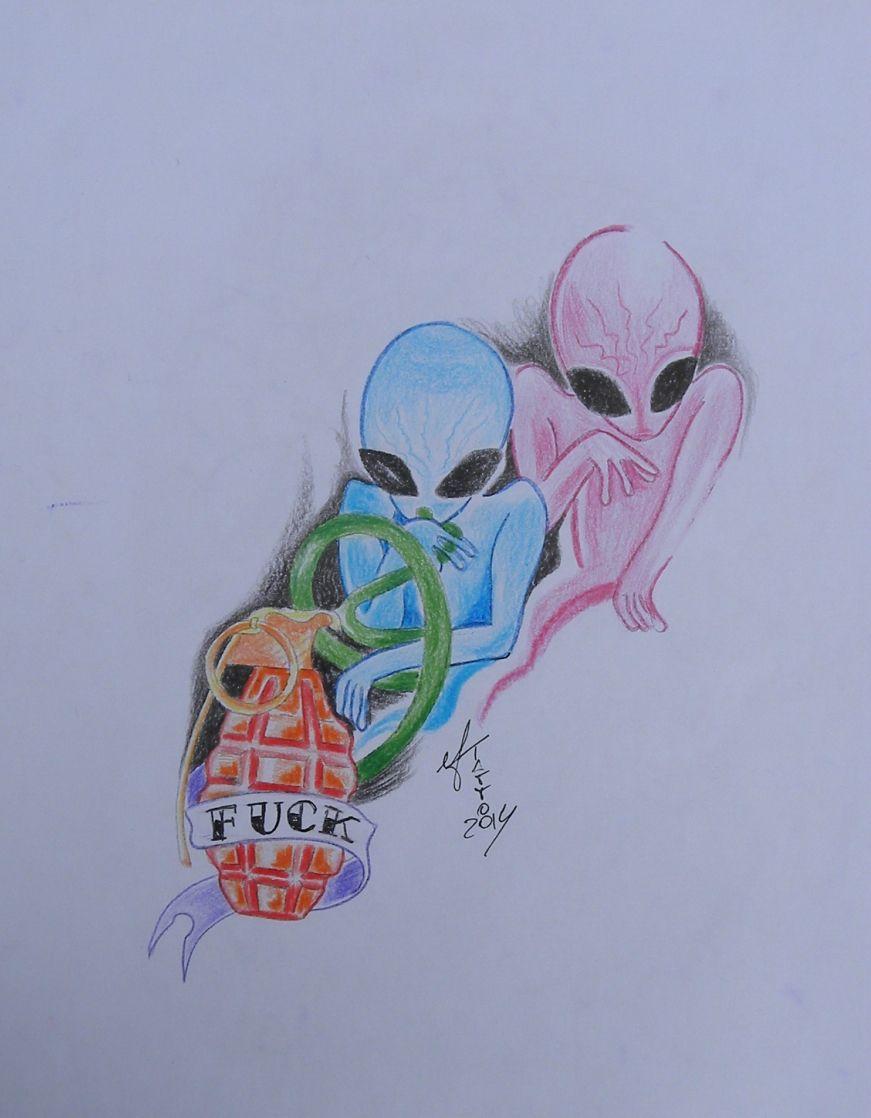 alieni tattoo