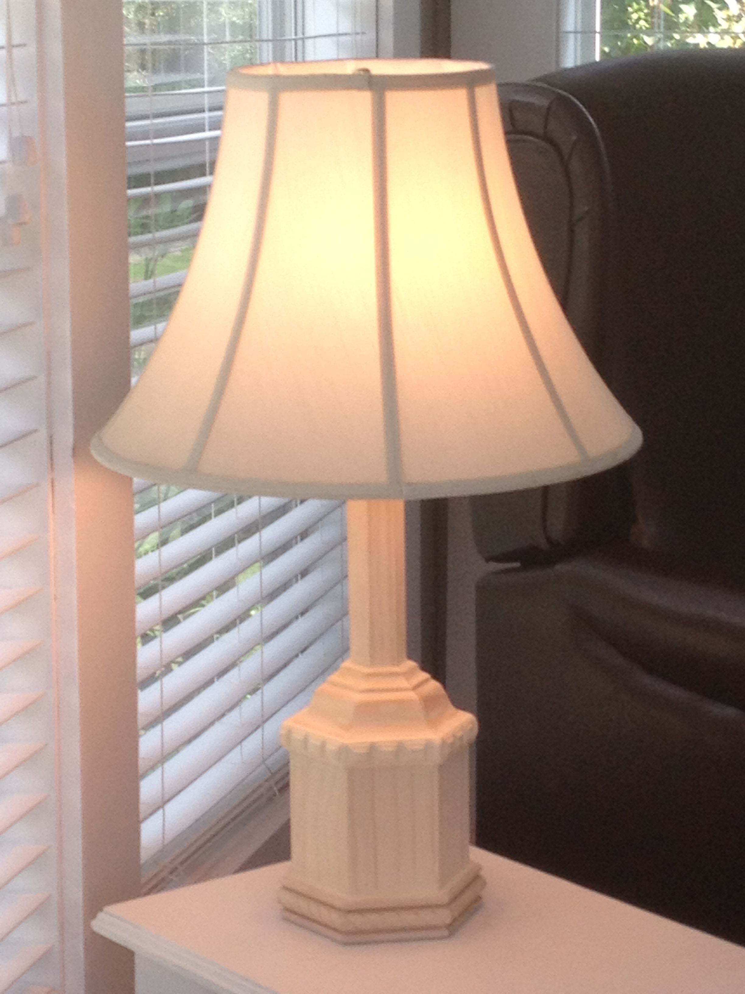 Wooden lamp customized to your color and style starting at $75 mrwoodworks@ymail.com