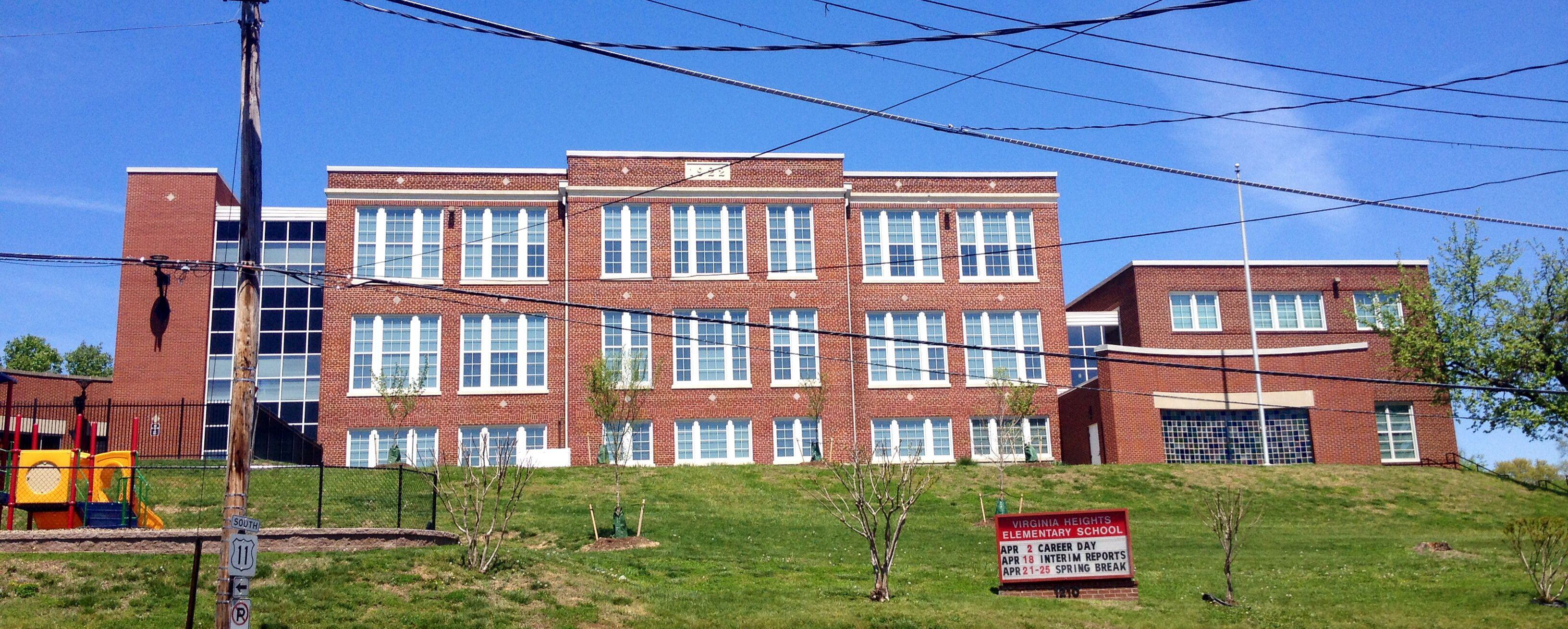 Va Heights Elementary My School One Block From Home Star City