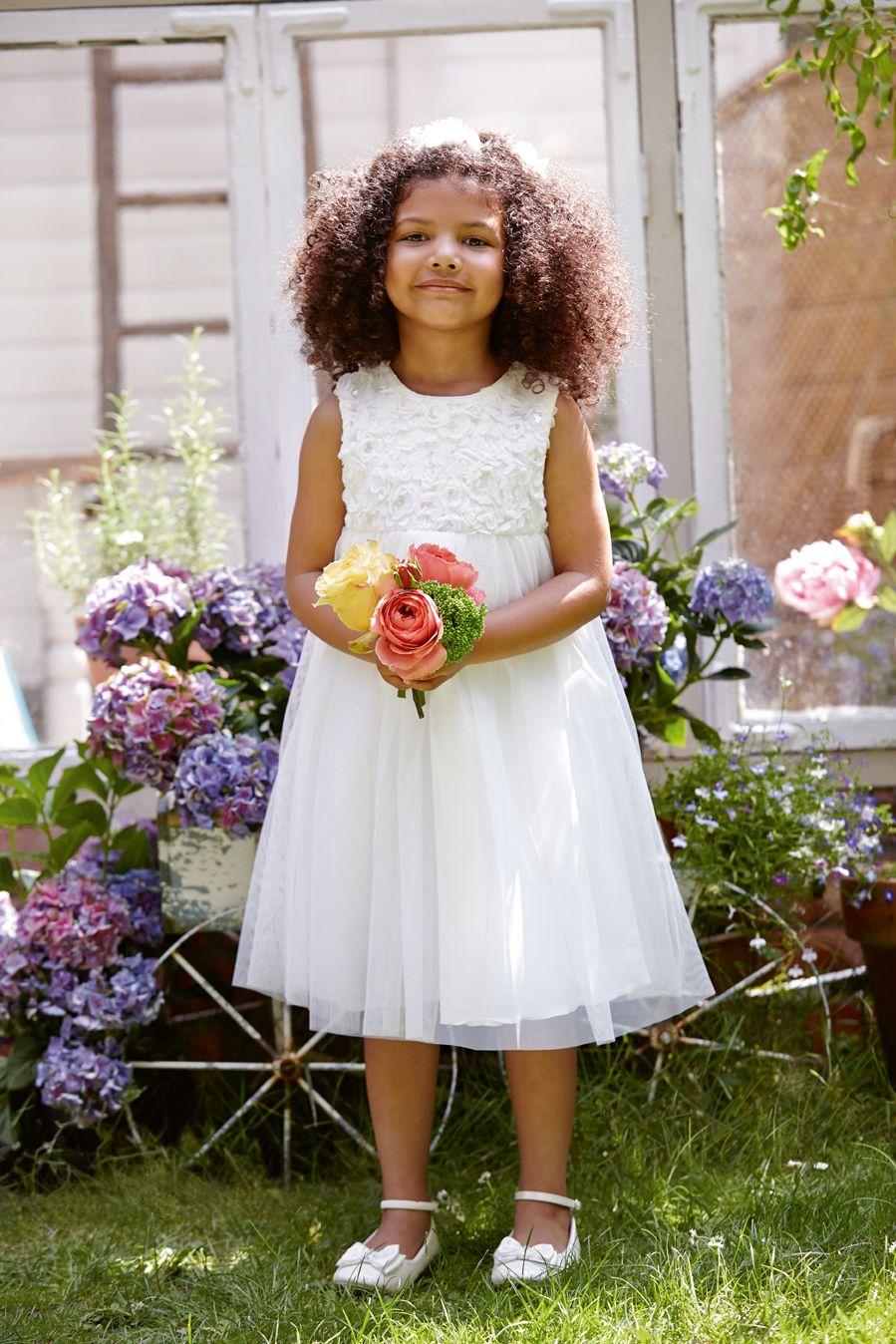 A lovely little flower girl dress fit for a princess #flowers ...