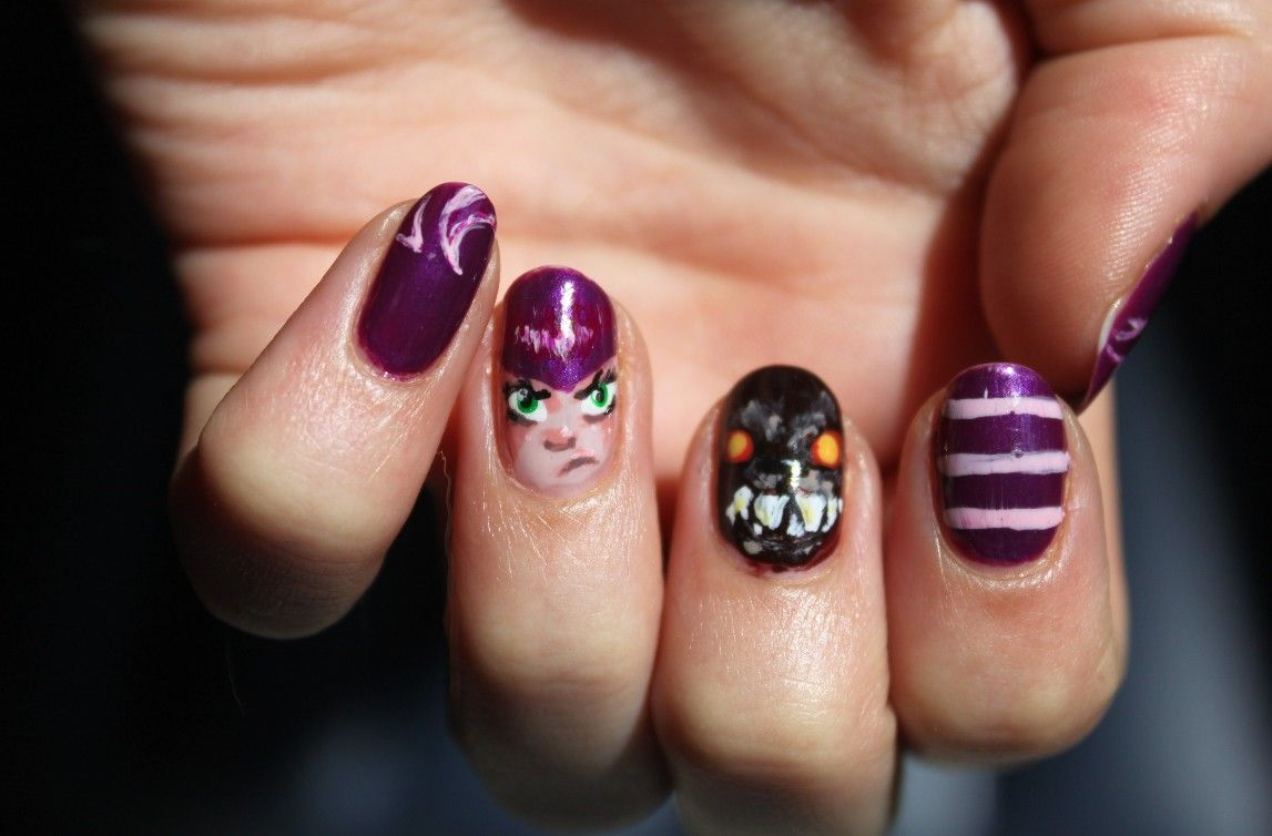 League of Legends LoL nails Annie | Nail Art | Pinterest
