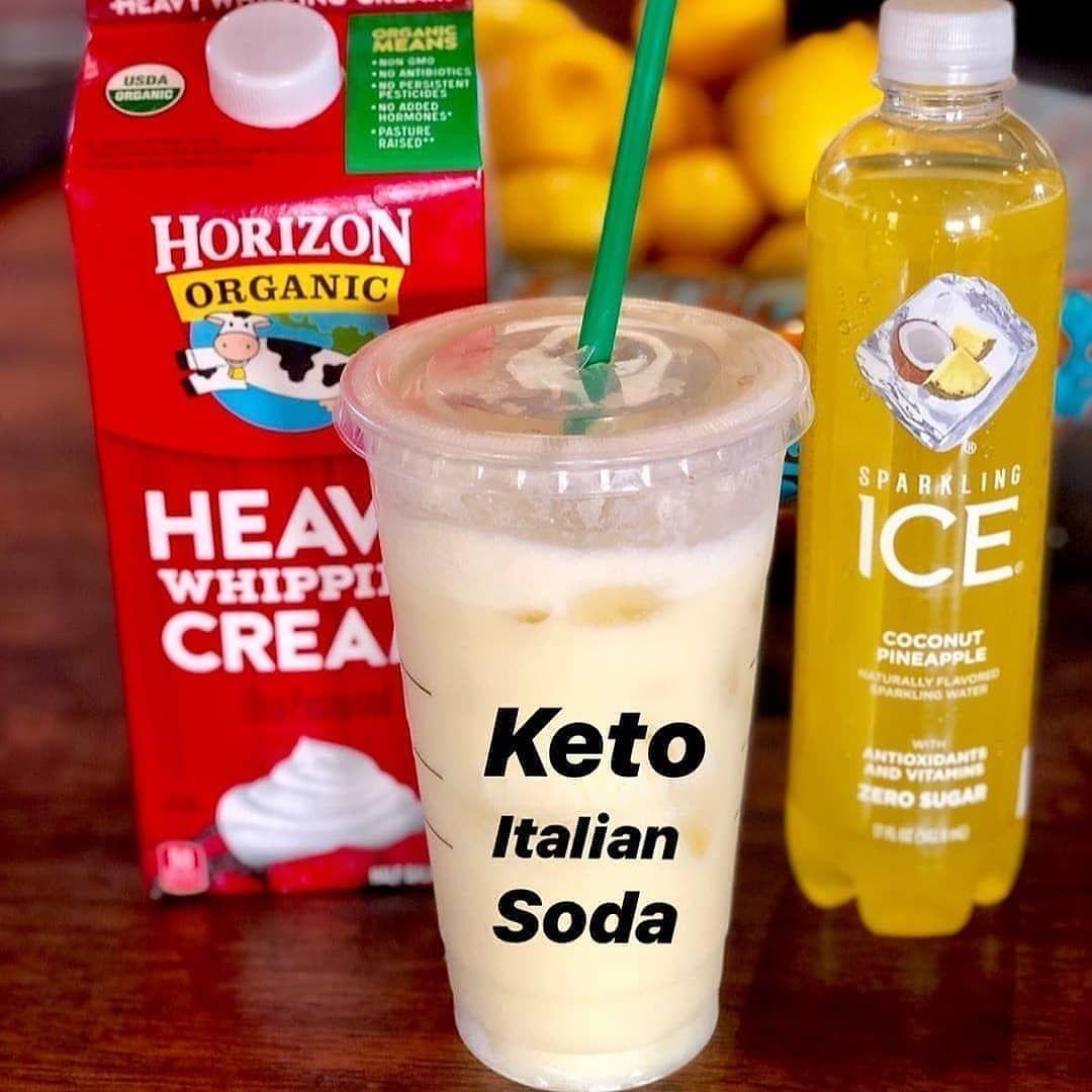 Friday Treat Keto Coffee Recipe Italian Soda Keto Drink