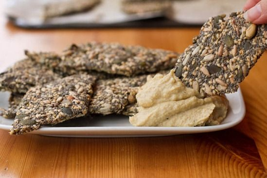 Endurance Crackers. These Endurance Crackers are extremely light and crispy while providing long-lasting energy. They are also vegan, gluten-free, soyfree, nutfree, sugarfree, and oilfree to boot!  ☀CQ #glutenfree #vegan #paleo