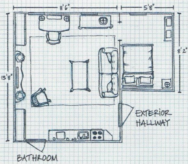 200 Sq Ft Of Style