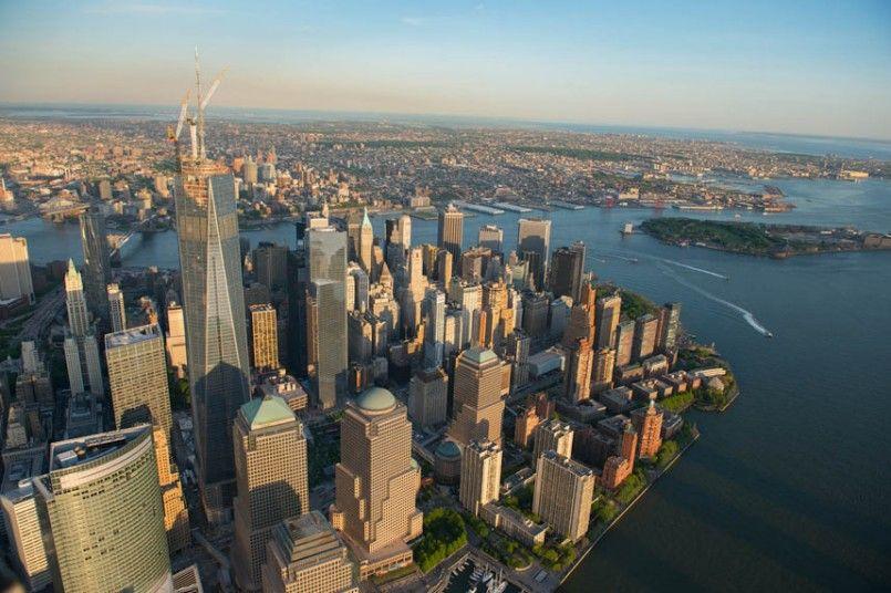 New York From The Air Jason Hawkes Photographs The Manhattan Skyline Manhattan Skyline New Skyline Skyline