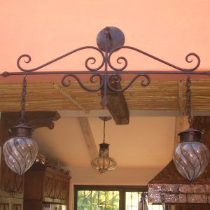 Black Wrought Iron Bathroom Light Fixtures Httpwlolus - Wrought iron bathroom lights