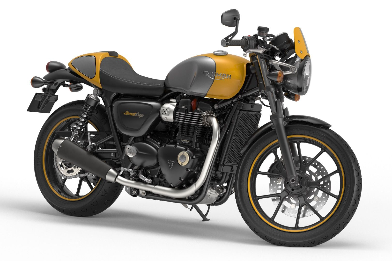 2017 triumph street cup first look - for sale | 2016 triumphs