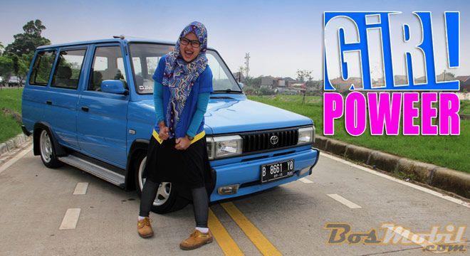 Modifikasi Toyota Kijang Girl Power Infomodifikasi