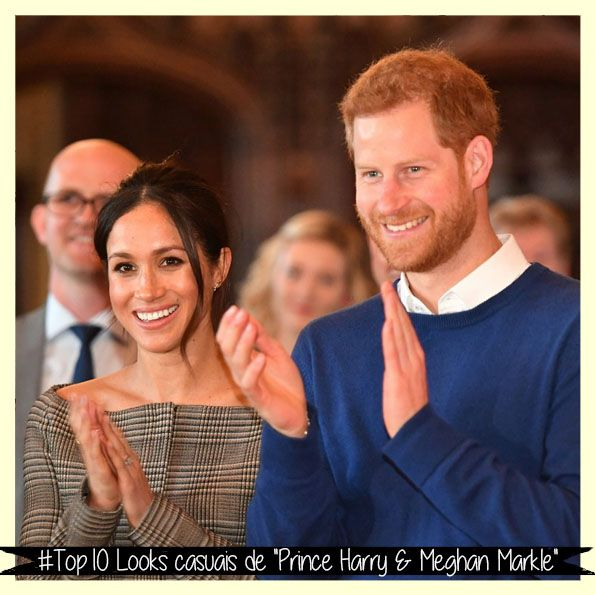 "#Top10 Looks de ""Prince Harry & Meghan Markle"""