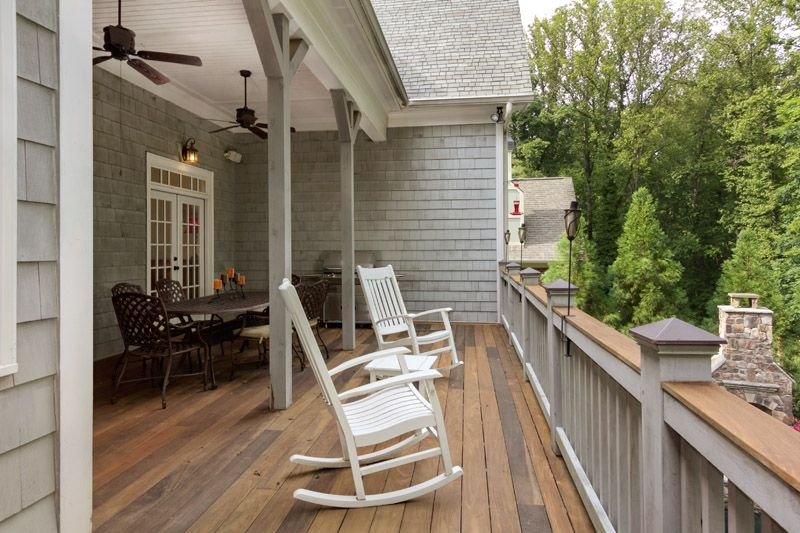 Covered Deck Porch Design Barn Style House Front Porch Remodel