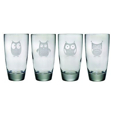 Hi-Ball glasses - for me that would be TEA! Love the owls - WANT THESE!!!! LOVE!!!!