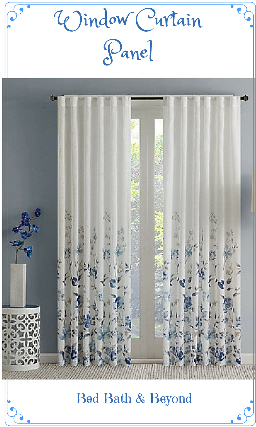 Bed bath and beyond window shades  window curtain panel ad curtain home decor  affiliate pins