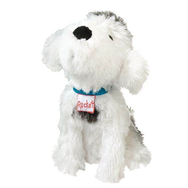 Demco Com Rocket Dog Plush Character Library Characters