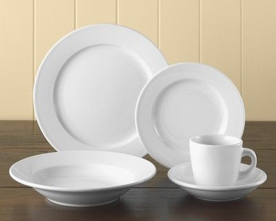 Everyday Restaurant Porcelain Dinnerware Collection #WilliamsSonoma...just bought 12 place settings! Ga Ga! & Everyday Restaurant Porcelain Dinnerware Collection #WilliamsSonoma ...