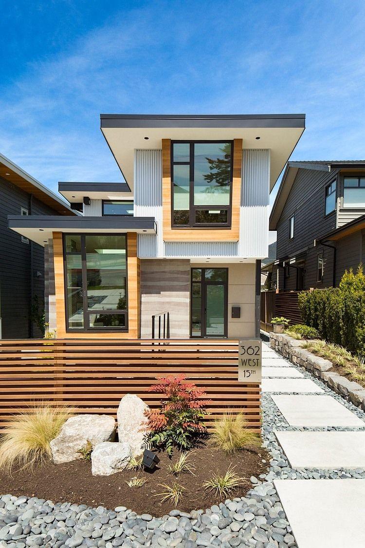 Dachüberstand   Dach und Fassade Farben   Pinterest   Architektur ...