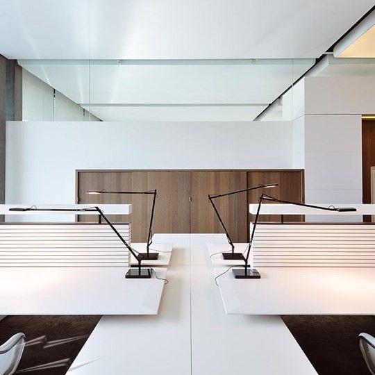 8w Flos Kelvin Led Table Light In Black Designed By Antonio Citterio Modern Led Desk Lamp In 2020 Led Desk Lamp Design Desk Lamp