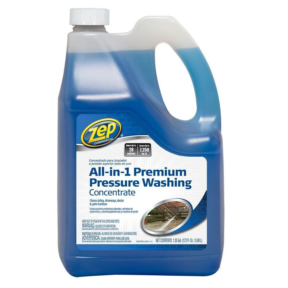 Zep 172 Oz All In 1 Pressure Wash Pressure Washing Concrete Cleaner Electric Pressure Washer